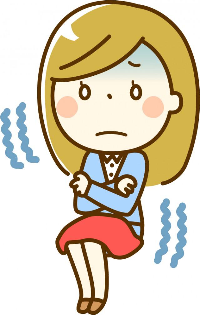 自律神経失調症の人はみんな「冷え症」です。